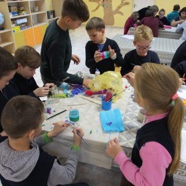 Dienos centro vaikai nesnaudžia